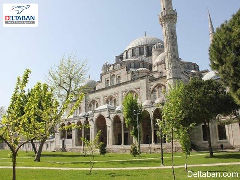 مسجد شهزاده از مساجد تاریخی استانبول