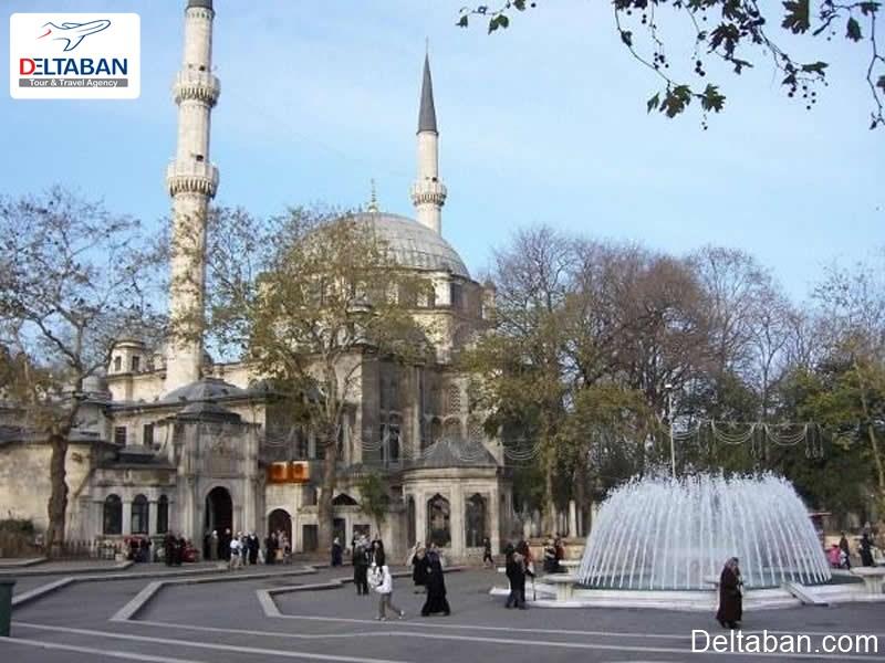 مسجد ایوب از مساجد تاریخی استانبول
