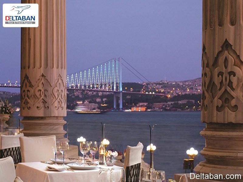 بهترین رستوران های تنگه بسفر