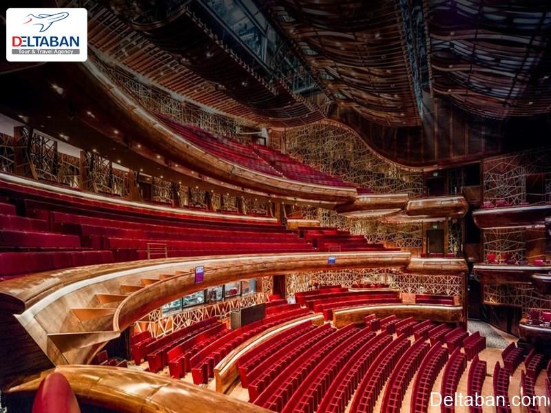 امکانات سالن اپرای دبی