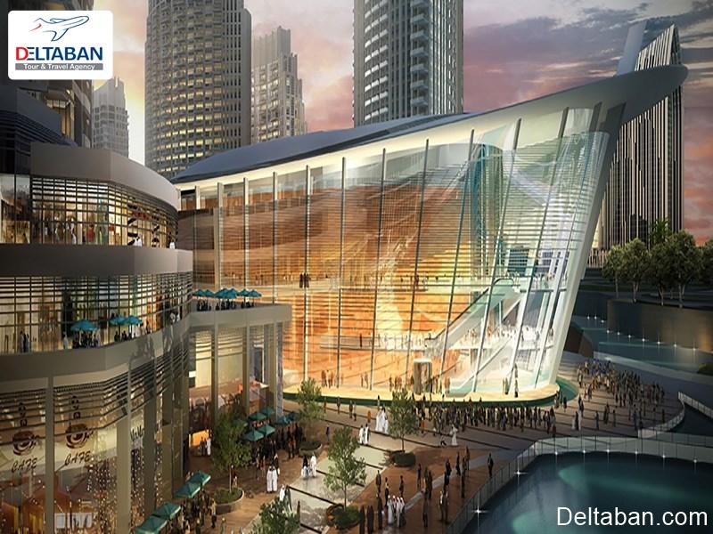 سالن اپرا در شهر دبی