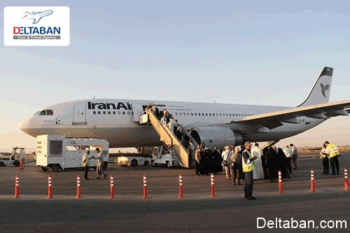بلیط هواپیما شیراز اهواز