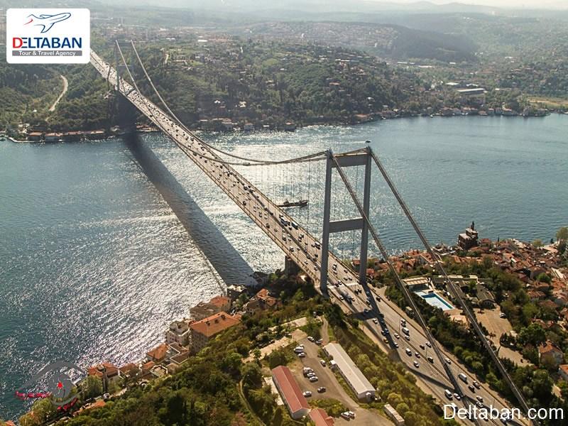 پل های دیدنی و توریستی در استانبول