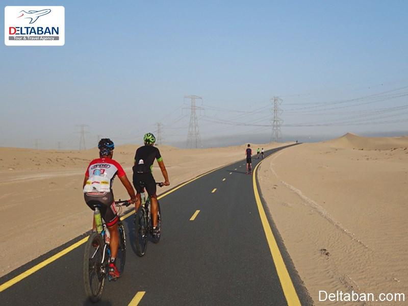 دوچرخه سواری القدره در دبی