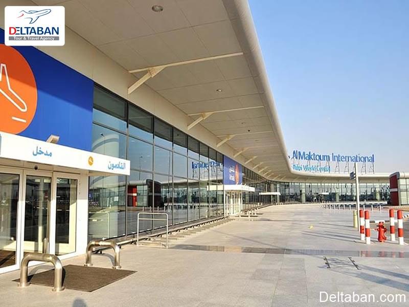 معرفی فرودگاه آل مکتوم دبی و ویژگی های عمومی