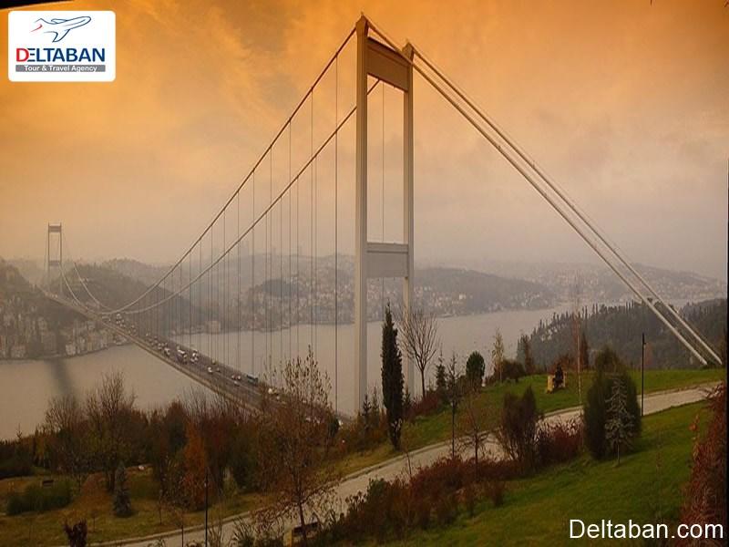 پل فتیح سلطان مهمت از پل های دیدنی استانبول