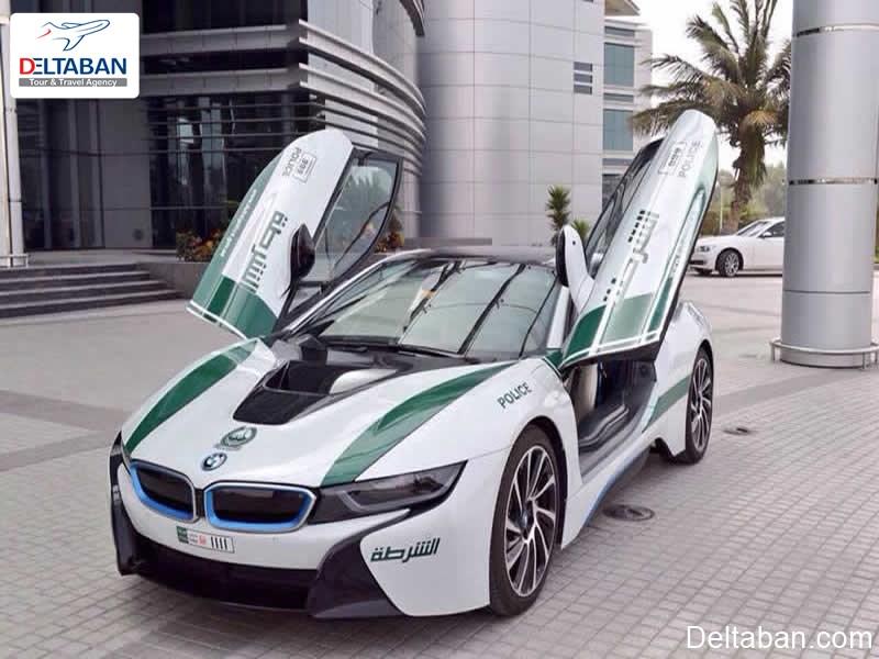 خودرو پلیس از شوکه کننده ترین حقایق دبی