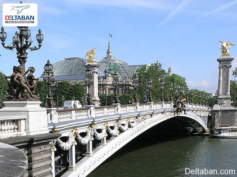 , پلالکساندرسوم یکی از زیباترین پل های دنیا