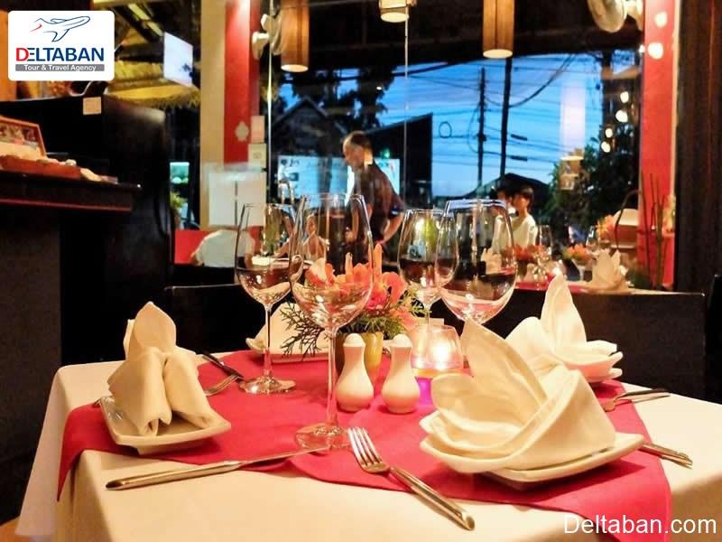 بهترین رستوران های پوکت رستوران ایتالیاییlagritta