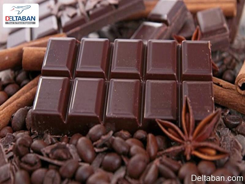 مصرف شکلات در سوئیس