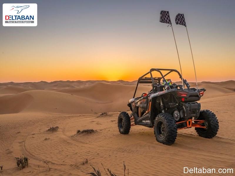 ماجراجویی با رانندگی دون باگی در دبی