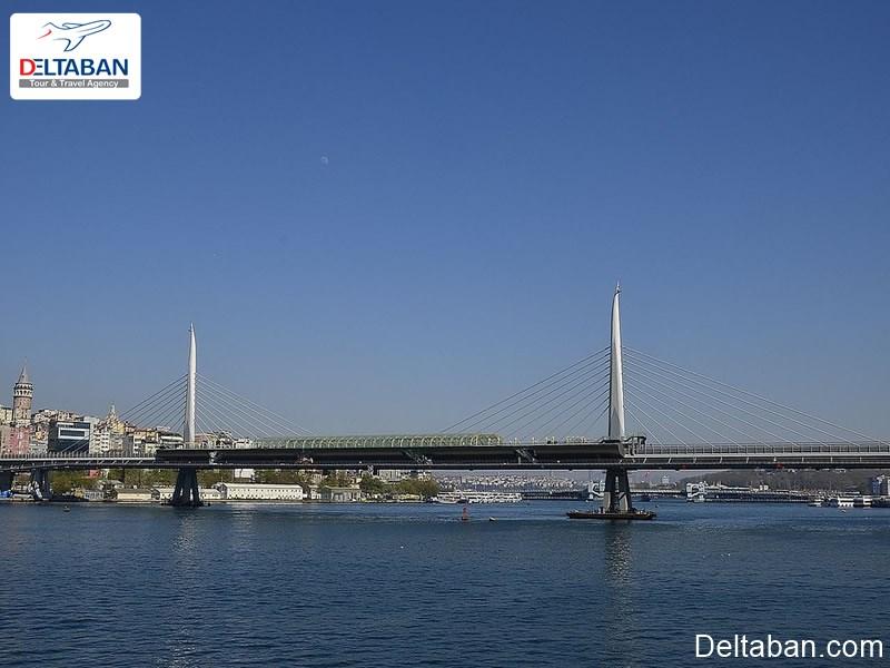پل متروی شاخ طلایی از دیدنی ترین پل های استانبول
