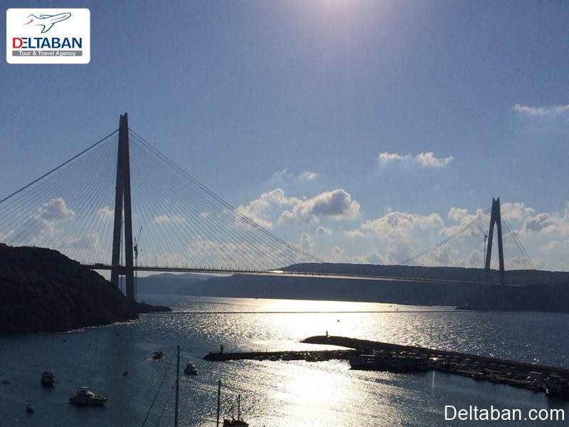 پل سلطان سلیم از دیدنی ترین تورهای استانبول