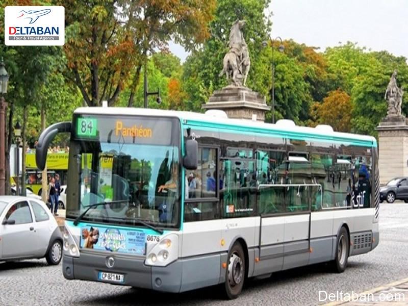 اتوبوس شهری در پاریس