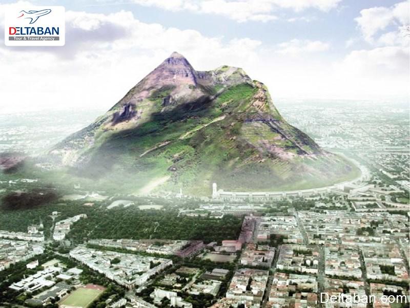 کوه مصنوعی دبی