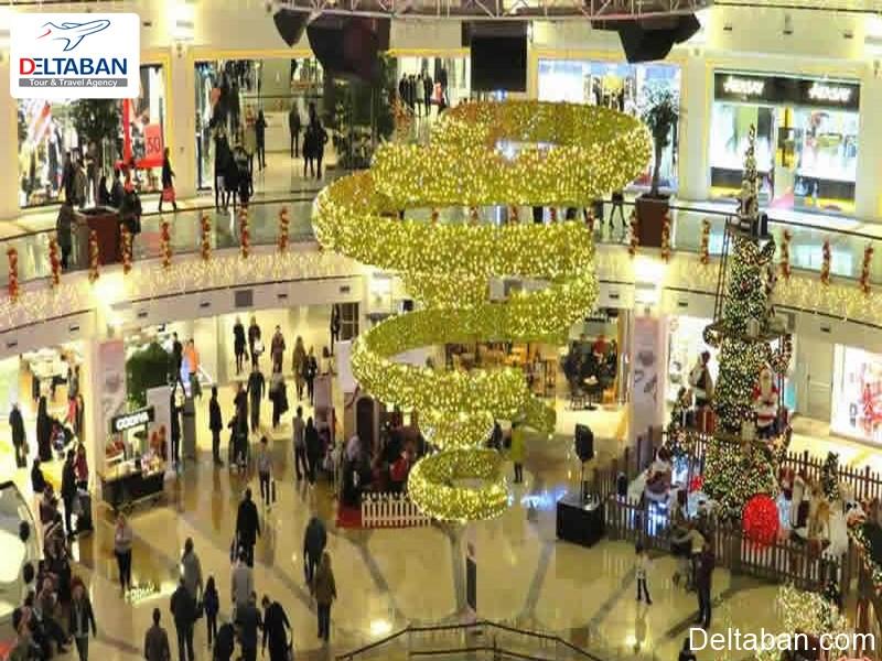 آدرس مرکز خرید ایستینی پارک استانبول