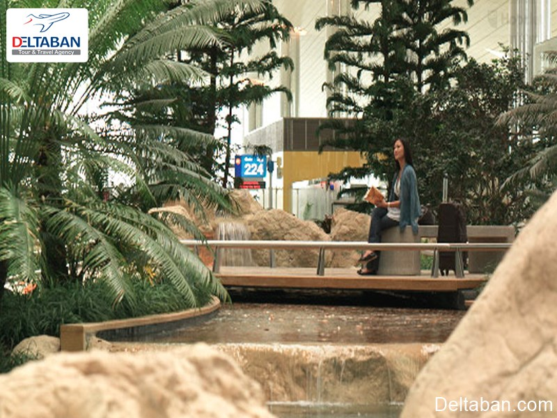 باغ زن از سرگرمی های فرودگاه بین المللی دبی
