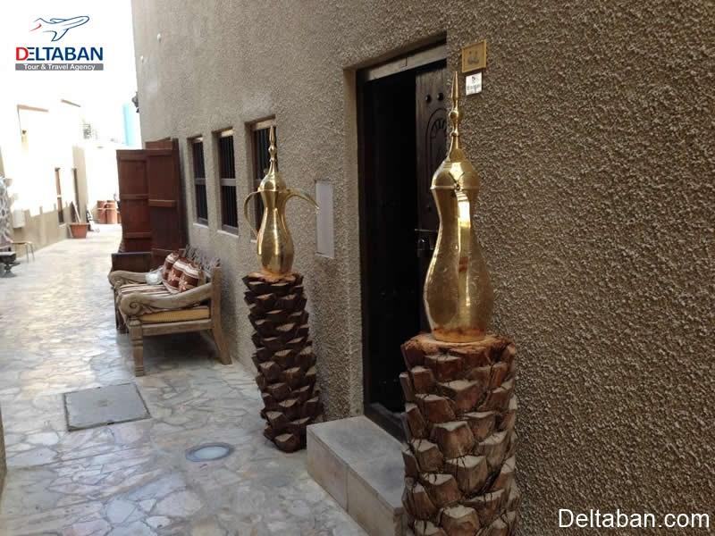 بازدید از مکان های تاریخی و قدیمی دبی
