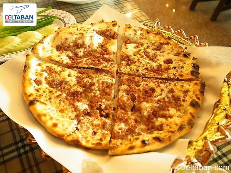 ماناکیش از پیتزاهای دبی