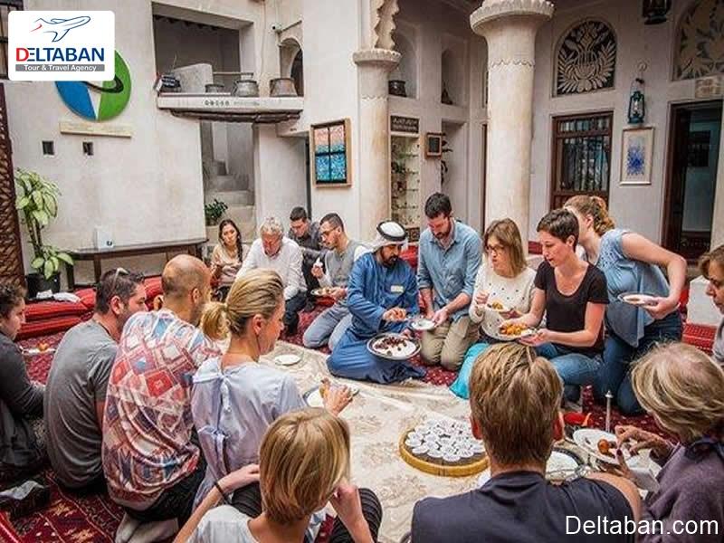 خانه های سنتی نزدیک موزه ای با طعم قهوه در دبی