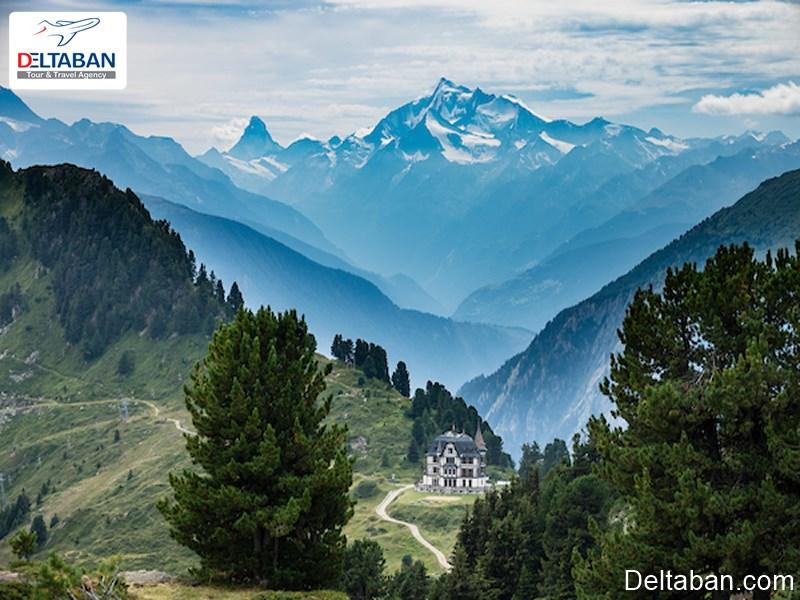 کوه آلپ کشور سوئیس
