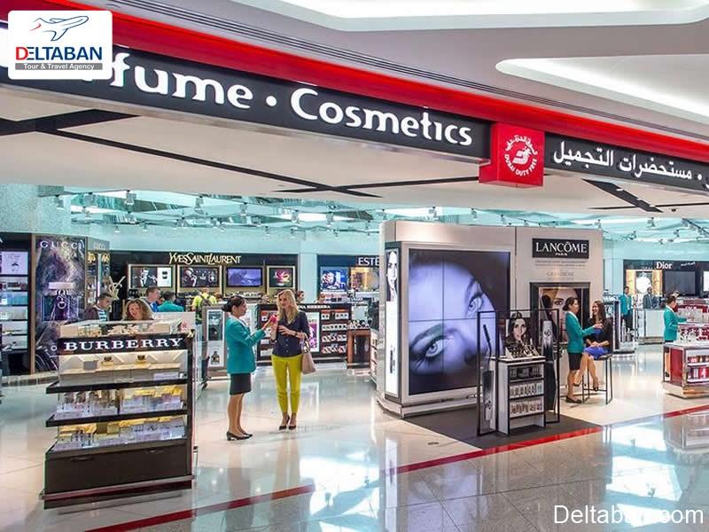 خرید در فرودگاه بین المللی دبی
