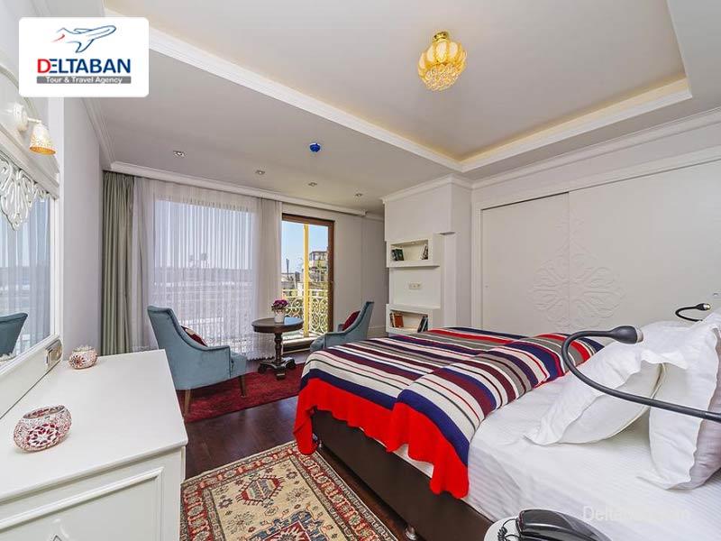اتاق های هتل باسیلوس در استانبول