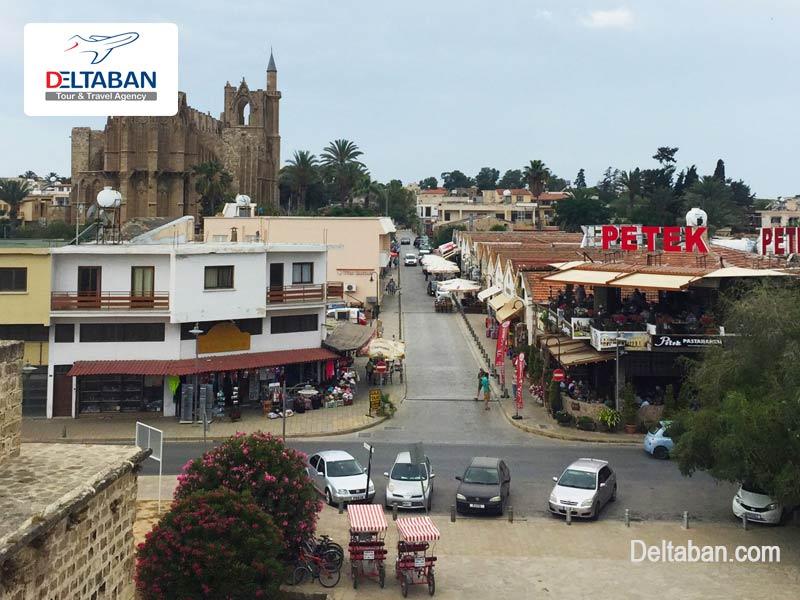 شهر فاماگوستا در قبرس