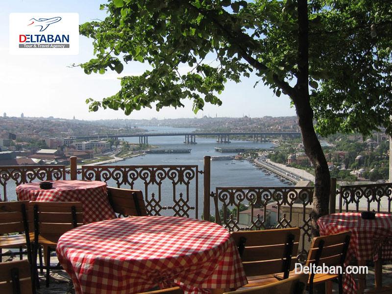 تپه پیر لوتی در استانبول ترکیه