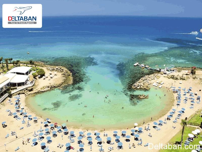 هتل نزدیک به ساحل نیسی قبرس