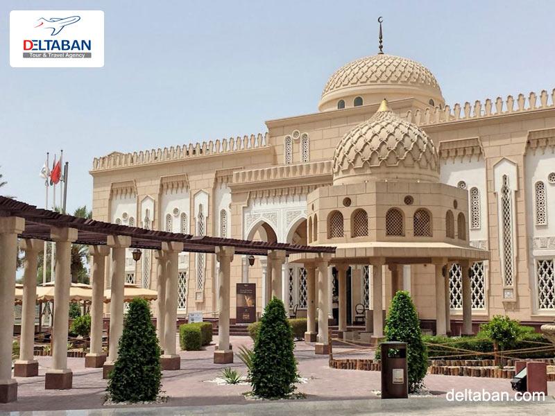 مسجد جمیرا در سفر به دبی