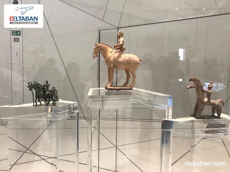 اشیای موزه اسب دبی
