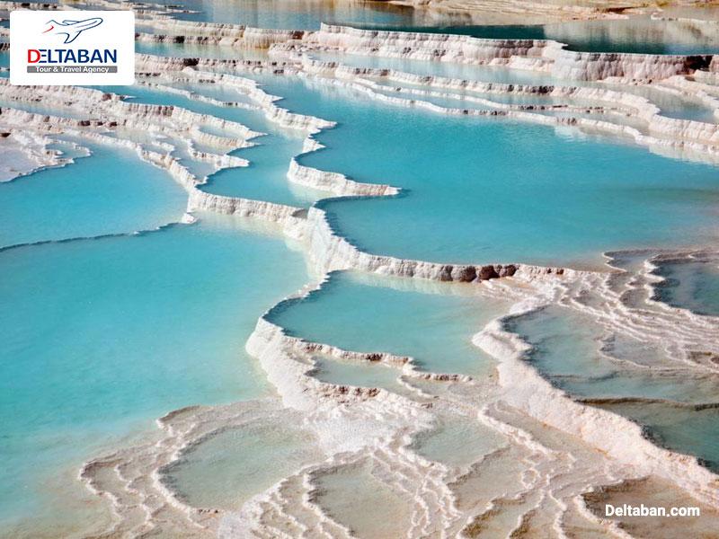 چشمه های آبگرم ترکیه