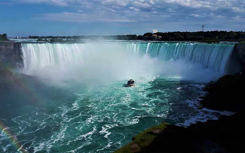 زاویه ای جذاب از آبشار نیاگارا