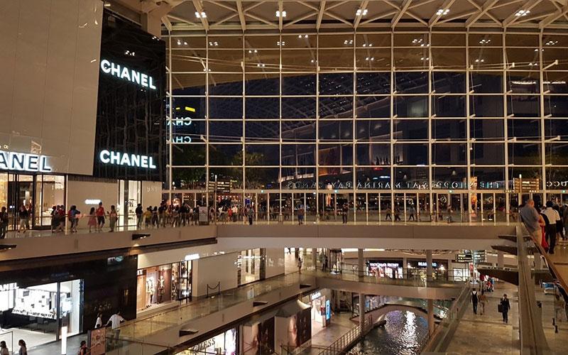 مرکز خرید مارینا بی سنگاپور