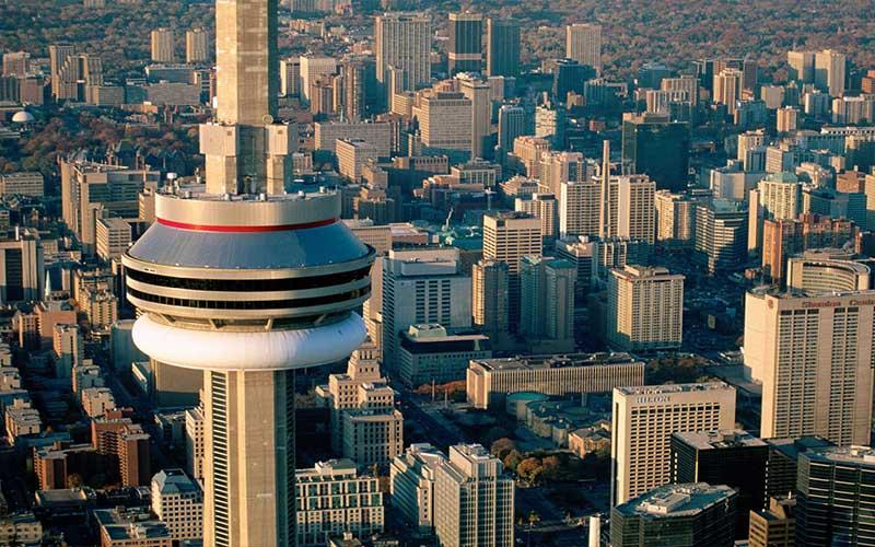 نمایی از سازه برج ملی