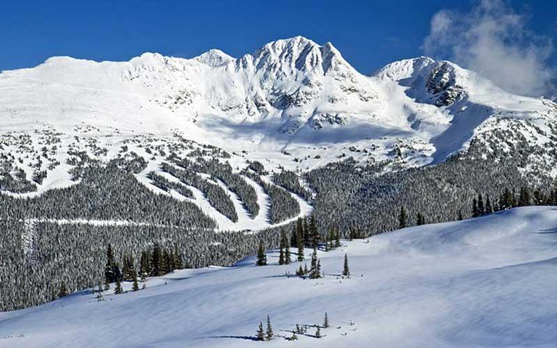 پیست اسکی ویسلر کانادا