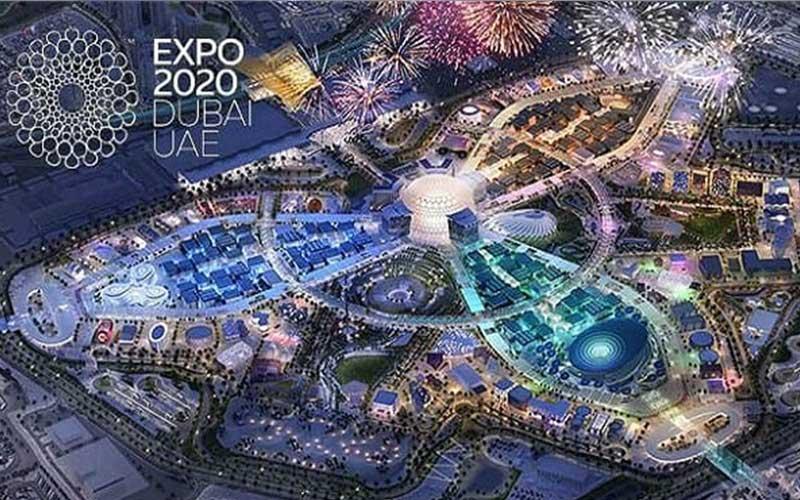 تصویری از نمایشگاه اکسپو 2020 دبی