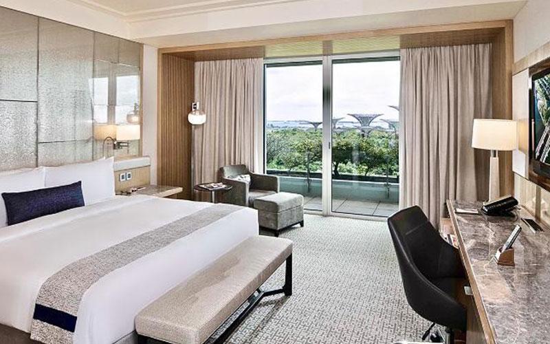 اتاق هتل مارینا بی سنگاپور