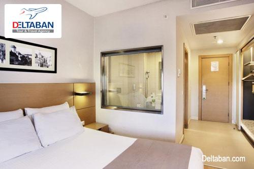 نمایی از اتاق خواب هتل eresin taksim premier