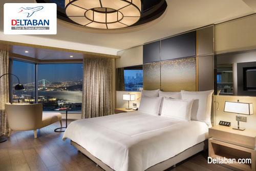 نمایی از اتاق هتل swissotel the bosphorus