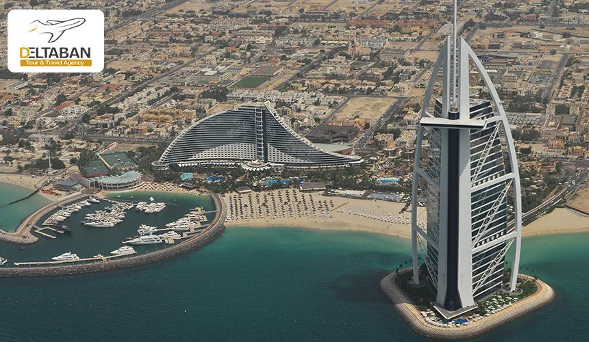 تصویری زیبا از هتل های لوکس دبی