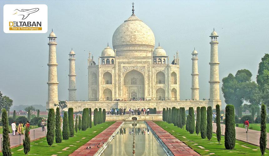 تاج محل از جاذبه های گردشگری هندوستان