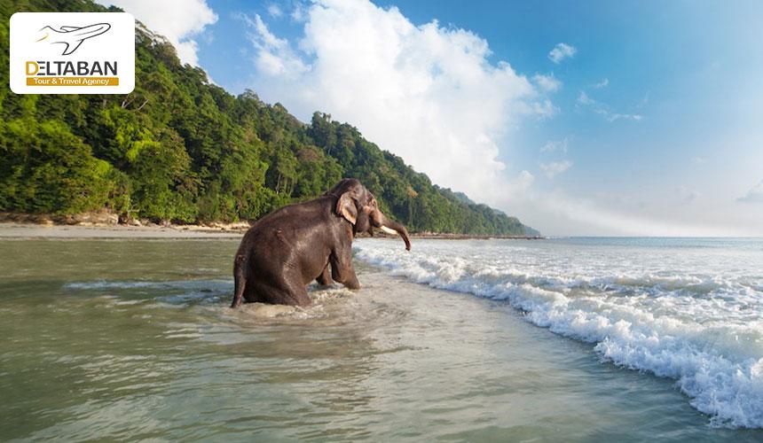 جزیره هولاک از جاذبه های گردشگری هندوستان