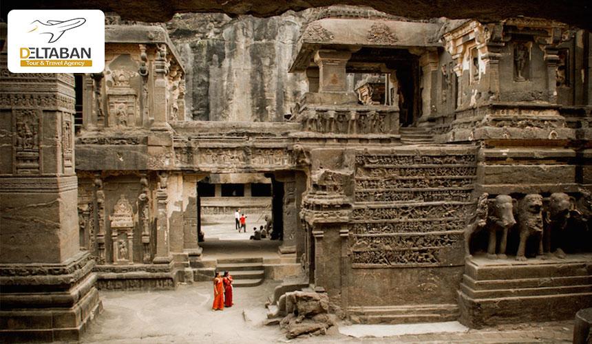 غار الورا از جاذبه های گردشگری هندوستان
