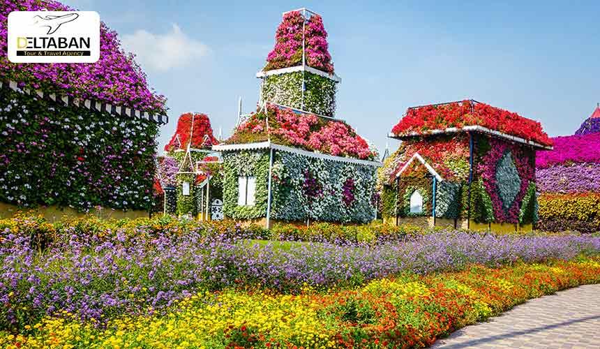 بهشت گمشده در باغ گل دبی