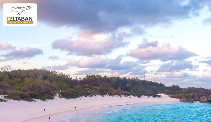 ساحل هورس شو بِی برمودا از سواحل صورتی رنگ دردنیا