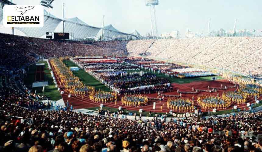 طراحی و ساخت استادیوم المپیک مونیخ