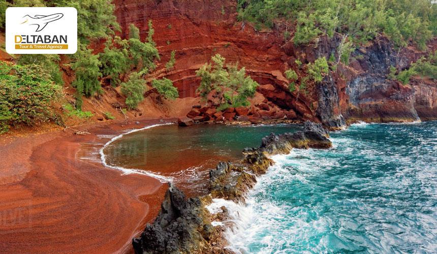 سواحل صورتی رنگ در دنیا