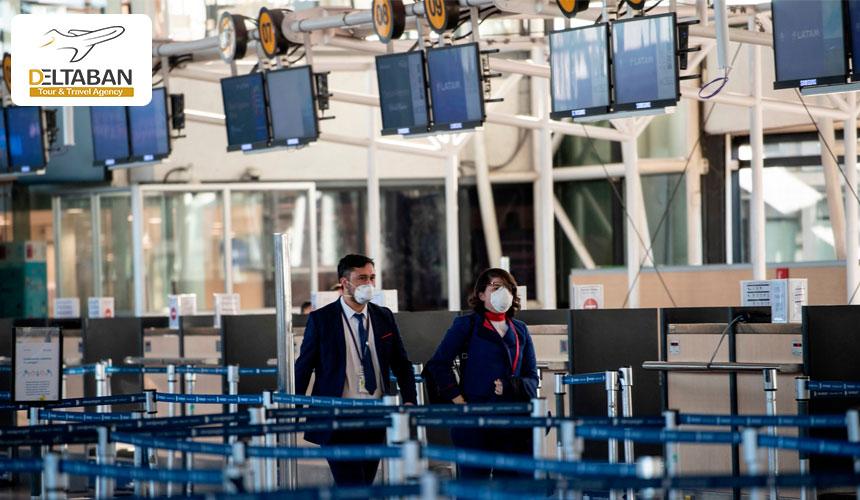 چک کردن مسافران در هنگام پرواز در دوران پسا کرونا
